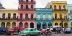Colourful buildings in Havana.